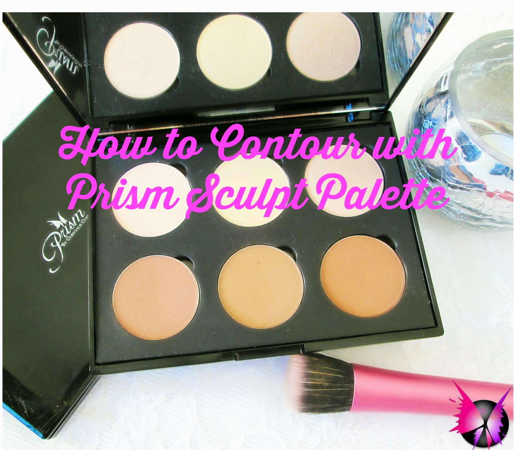 How to Contour and Highlight With The Prism Sculpt Palette